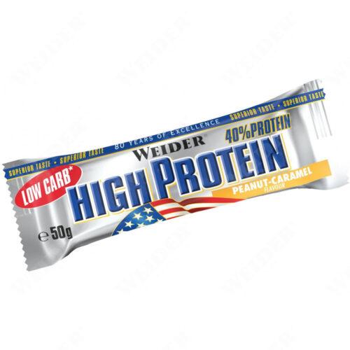 Weider - Low Carb High Protein Bar 50g - Fehérje Szelet