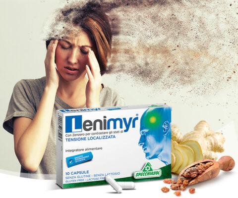 Specchiasol - Lenimyr mirhagyanta gyömbérgyökér és vízmentes koffein - 10db kapszula